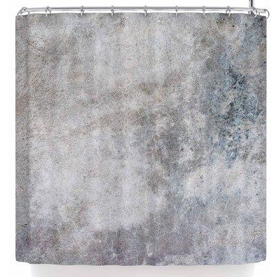 Susan Sanders Grey Urban Concrete. Shower Curtain