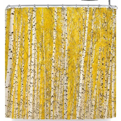 Susan Sanders Birch Trees Shower Curtain