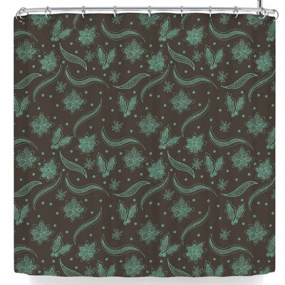 Stephanie Vaeth Winter Lace Shower Curtain