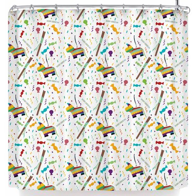 Stephanie Vaeth Pinatas Shower Curtain