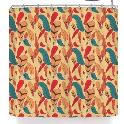 Stephanie Vaeth Feathers Shower Curtain