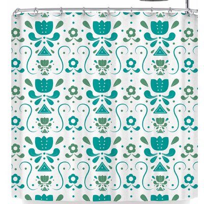 Stephanie Vaeth Floral Shower Curtain