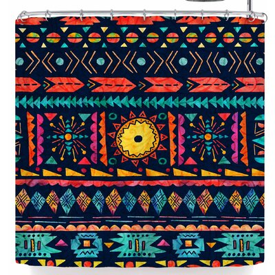 Noonday Design Tribal Sunshine Shower Curtain