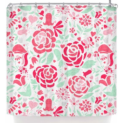 Noonday Design Rose Garden Shower Curtain