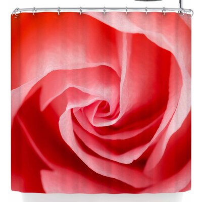 Susan Sanders Rose Shower Curtain