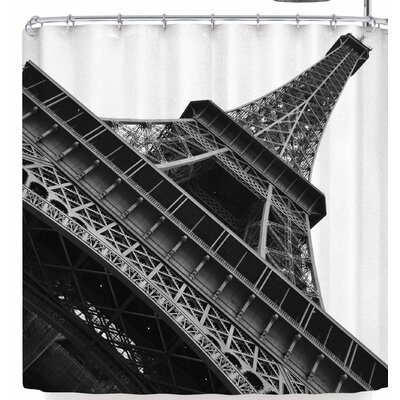 Susan Sanders Eiffel Tower Paris Shower Curtain