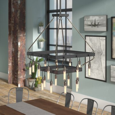 Romane 20-Light Mini Chandelier
