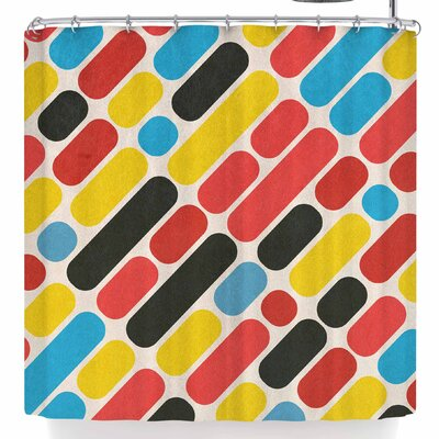Tobe Fonseca Colorful Trend Shower Curtain