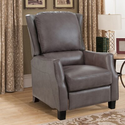 Surles Leather Manual No Motion Recliner