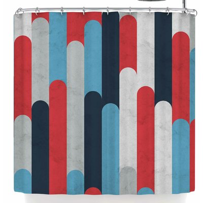 Tobe Fonseca Icelandic Geology Shower Curtain