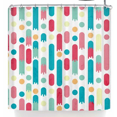 Tobe Fonseca Geometric Rain Shower Curtain