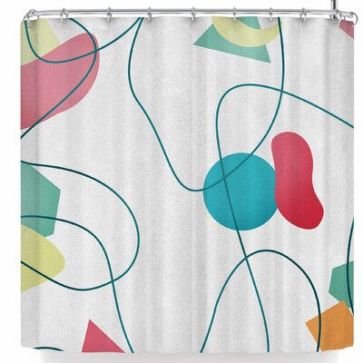 Tobe Fonseca Geometric Mir� Shower Curtain