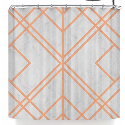 Tobe Fonseca Art Deco Lines Shower Curtain