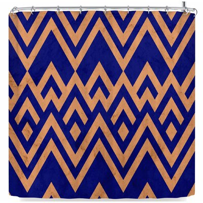 Tobe Fonseca Pines Vintage Shower Curtain