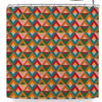 Tobe Fonseca Geometric Ethnic Shower Curtain
