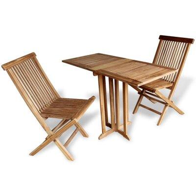 2-Sitzer Balkonset Goldrick | Garten > Balkon > Balkon-Sets | Naturalbrown | Massivholz - Rattan | Lynton Garden
