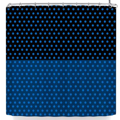 Trebam Tufna V.2 Shower Curtain Color: Dark Blue