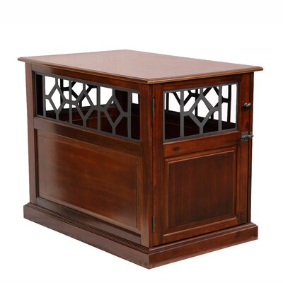 Standish End Table Size: 29.5 H x 24 W x 36.75 D, Color: Mahogany