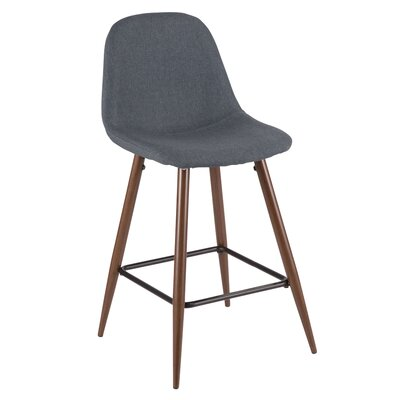 Birdsall 24 Bar Stool Color: Blue