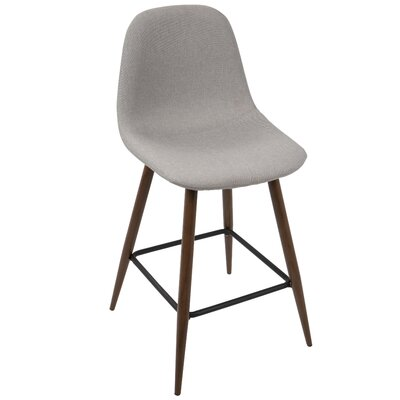Birdsall 24 Bar Stool Color: Light Gray