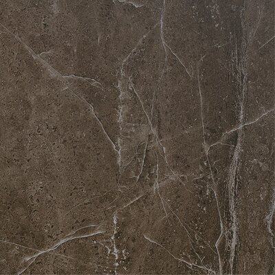 Pellas 13 x 13 Porcelain Field Tile in Silver