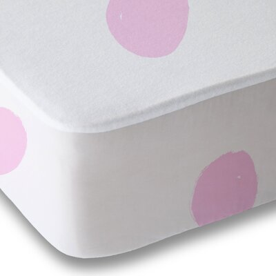 Dessert Polka Dot Sheet Set Size: Queen, Color: Pink