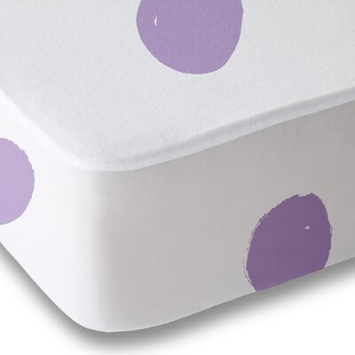 Dessert Polka Dot Sheet Set Size: Queen, Color: Purple
