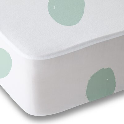 Dessert Polka Dot Sheet Set Size: Queen, Color: Green