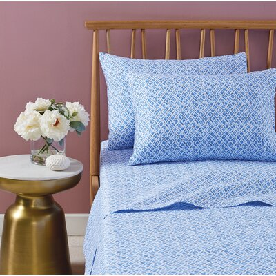 Abella 100% Cotton Sheet Set Size: California King