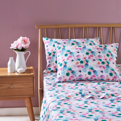 Sanna 100% Cotton Sheet Set Size: Twin