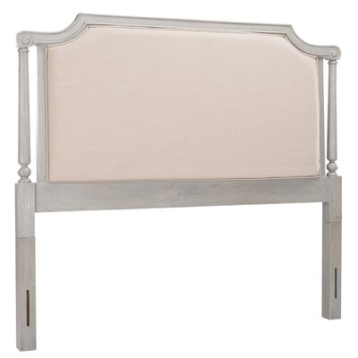 Tadoussac Upholstered Panel Headboard Size: Queen, Color: Biege
