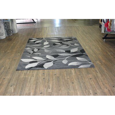 Temaraia Gray Indoor Area Rug Rug Size: Rectangle 8 x 11