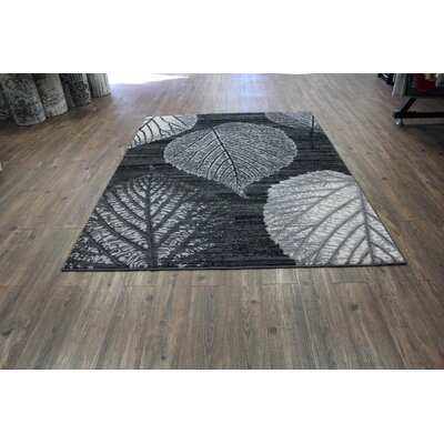 Halter Gray Indoor Area Rug Rug Size: Rectangle 8 x 11
