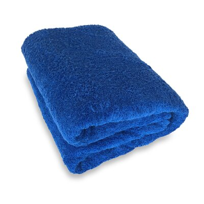 Ethan Towels Cotton Oversized Bath Sheet Color: Blue