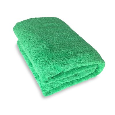 Ethan Towels Cotton Oversized Bath Sheet Color: Green