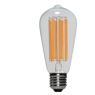 10W E26/Medium (Standard) LED Vintage Filament Light Bulb