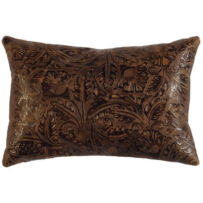 Boaz Embossed Throw Pillow