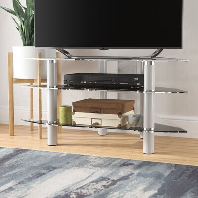 Nika 44 TV Stand Color: Silver