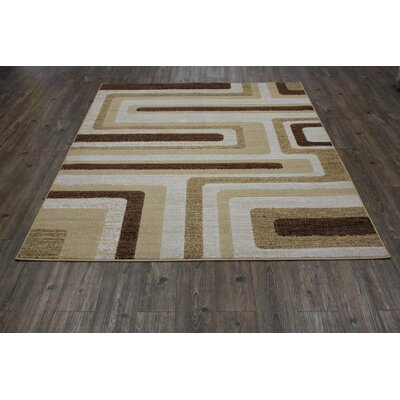 Yarbro Beige Indoor Area Rug Rug Size: Rectangle 5 x 8