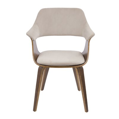 Christenson Upholstered Dining Chair Upholstery: Tan