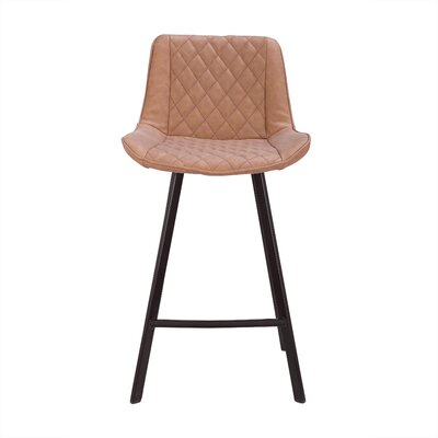 Herren 26 Bar Stool Color: Brown