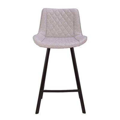 Herren 26 Bar Stool Color: Gray