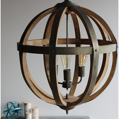 Linck 3-Light Globe Pendant