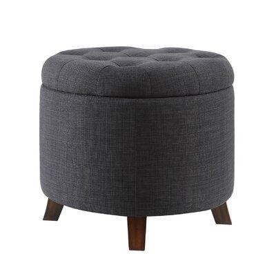 Mayhall Storage Ottoman Upholstery: Dark Blue