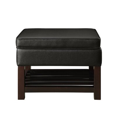 Aganlane Ottoman Upholstery: Dark Brown