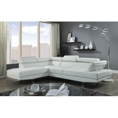 Gowdy Sectional Upholstery: Cream