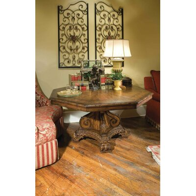 Octagonal Dining Table Color: Classic Studio - Antique Honey, Accents: None