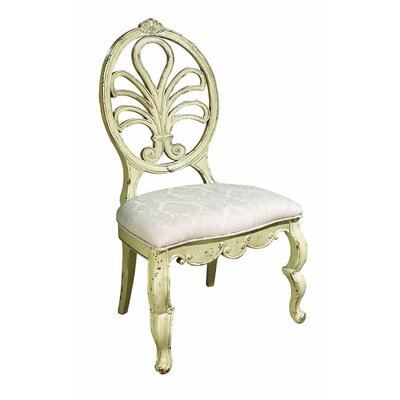 Adelaide Dining Chair Color: Classic Studio - Graystone, Accents: Gold