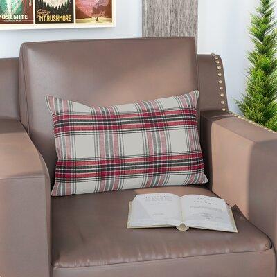 Almeda Tartan Plaid Traditional Cotton Lumbar Pillow