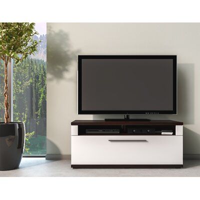 Wydra TV Stand Color: Norman Oak/White